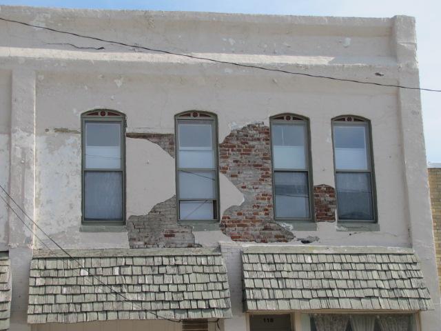 Stucco Over Brick Something I Ve Never Understood This Pr Flickr