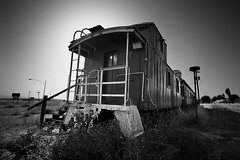 Abandoned Eatery Caboose