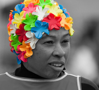 Color me cool | this lady had a dog in the costume contest ...