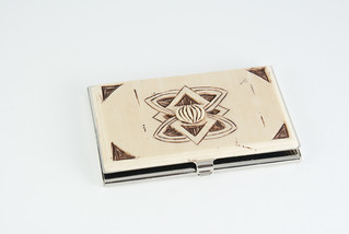 Chapter 12: Carved Business Card Holder | by CraftyGoat