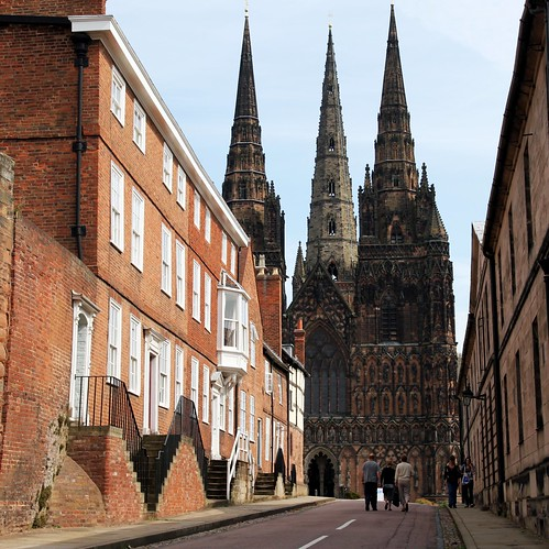 Lichfield Cathedral - Three Spires | by Heaven`s Gate (John)