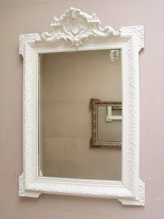 French Antique Hand Carved Mirror | by frenchfinds.co.uk