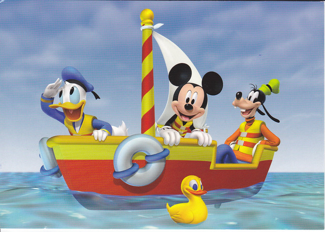 Mickey Mouse Clubhouse Postcard