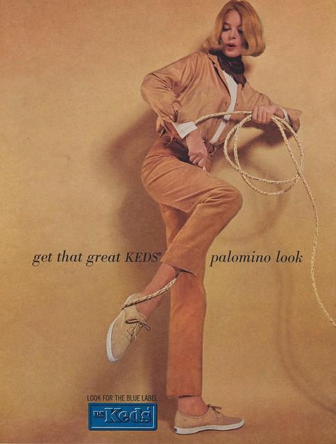Get That Great Keds Palomino Look