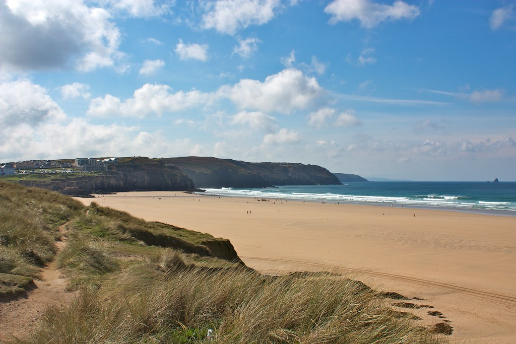 Perranporth Beach