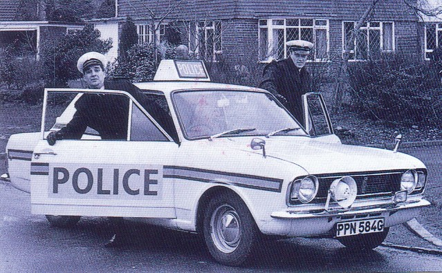 Sussex Police Ford Lotus Cortina (PPN 584G)