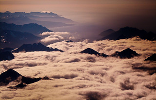 Peaks through the clouds   by pdvos