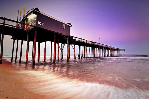 seascape beach landscape pier md nikon maryland wave explore oceancity 1224mm d5000