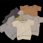 DNT-107 SIMPLE STANDARD T-shirts A,ベージュ B,カーキ C,ライトパープル D,ブラウン E,グリーン F,グレー杢 G,チャコール ¥3,300(¥3,465)~¥3,900(¥4,095)