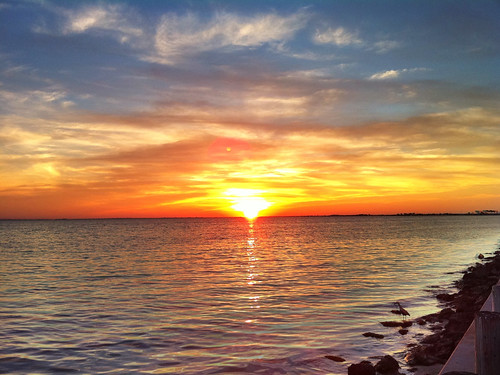 sunset sun beach