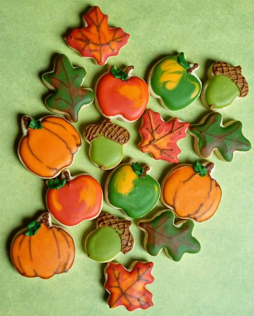 Fall Mini cookies