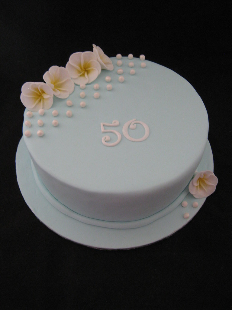 Prime 50Th Birthday Cake Mums 50Th Birthday Cake A 20Cm 8 In Flickr Personalised Birthday Cards Bromeletsinfo