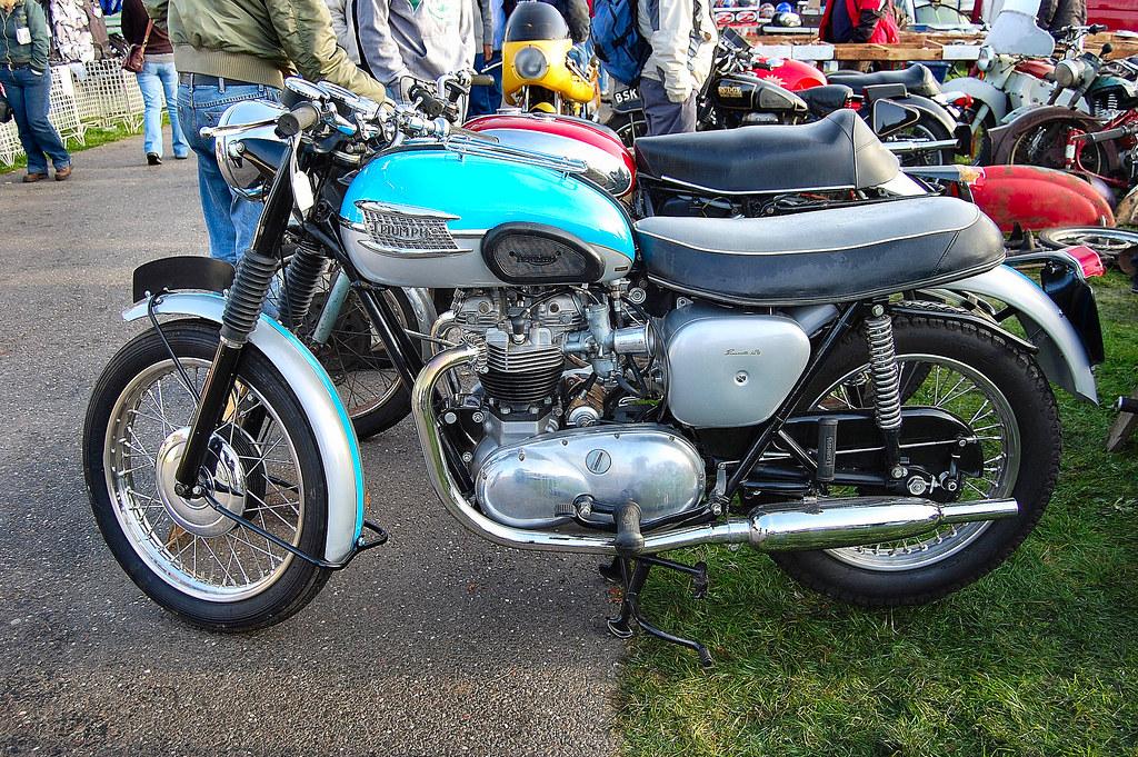 Triumph Bonneville T120 750 Cc Four Stroke Manufacturer Flickr