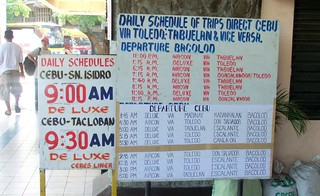 Cebu North Terminal bus schedules | Cebu-Bacolod  Bacolod-Ce