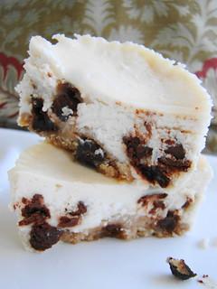 Chocolate Chip Cookie Cheezecake Bites