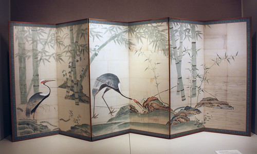 Cranes, Pines, and Bamboo | by peterjr1961