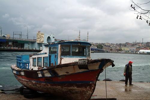 Rusty fishing boat, Istanbul | by PimGMX