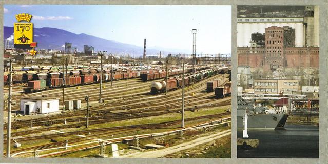 Russian Railroad Postcard