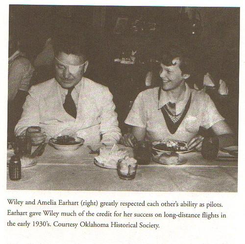 Wiley Post And Amelia Earhart
