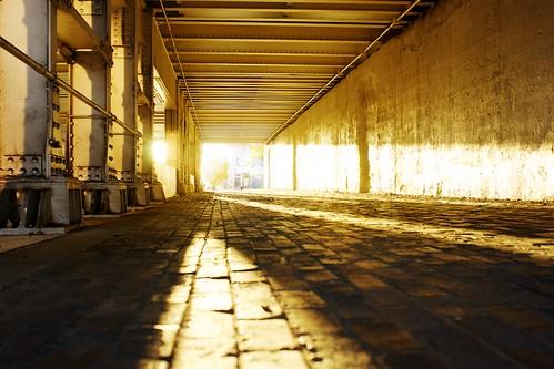 bridge sunrise downtown wichitaks douglasavenue minoltaaf35mmf14 sonyalphaa850