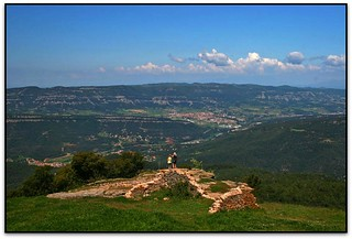 Centelles des del cim del Tagamanent (el Vallès Oriental)   by Jesús Cano Sánchez
