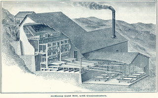 20-Stamp Gold Mill, with Concentrators (1897) | by Butte-Silver Bow Public Library