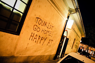 Tourist Go Home! Happy AT | by F. Montino