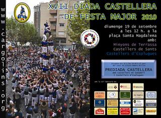108. Cartell Diada Castellers d'Esplugues 2010 | by Cargolins
