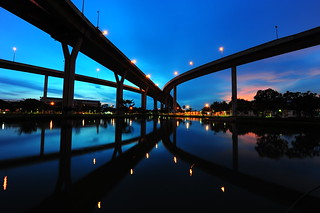 Industrial Ring Road Sunset - Bangkok | by DeeMakMak