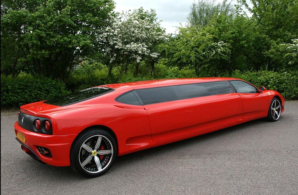 Ferrari 360 Limousine, Limo Hire West Midlands