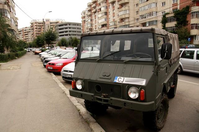 Pinzgauer military vehicle