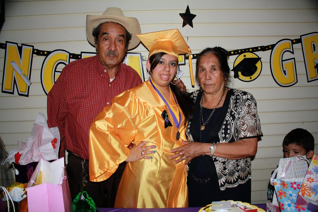 Nancy with Tio Eliseo & Tia Julia