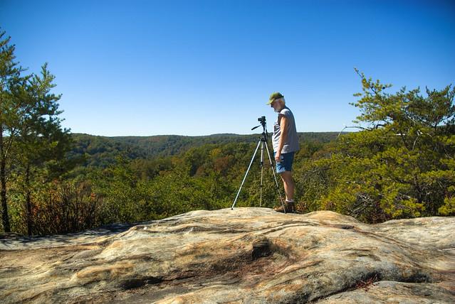 Quentin Jones, Twin Arches Loop trail, BSF, Scott Co, TN