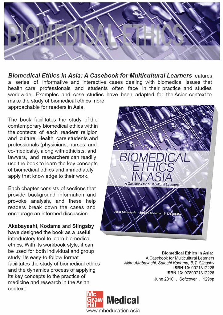 Biomedical Ethics in Asia 1 of 2 | Biomedical Ethics in Asia