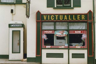 Butcher in Ballina, Co. Tipperary, April 1989