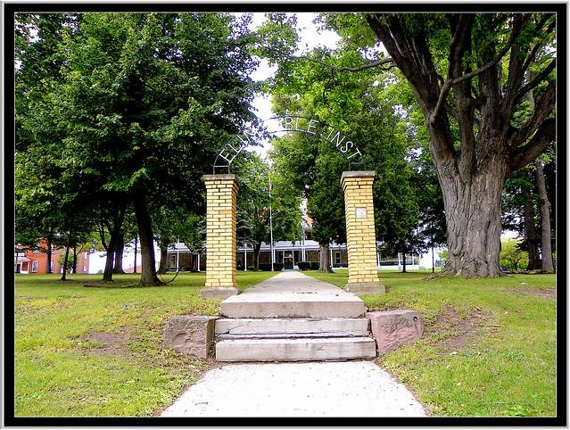 Lima Ny ~ Elim Bible Institute ~ Entrance