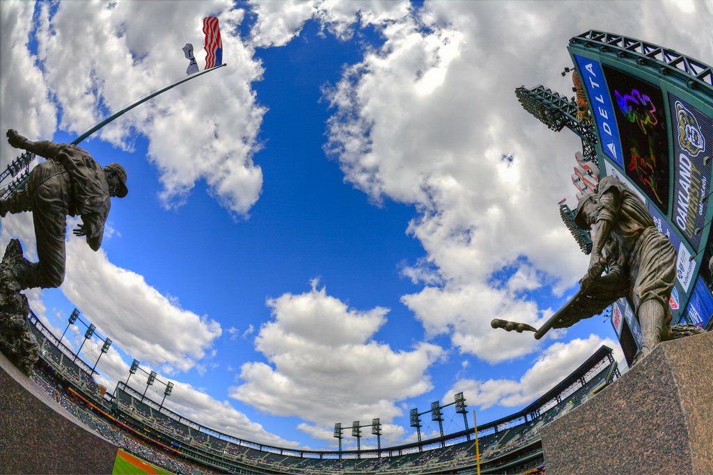 Detroit Tiger Legends at Comerica HDR by hz536n/George Thomas