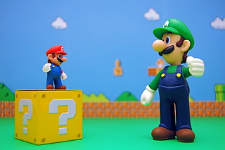 Mario vs. Super Luigi (316/365) | by JD Hancock