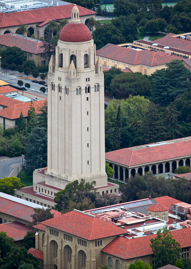 Hoover Tower | A bit of a perspective puzzle  How did I take