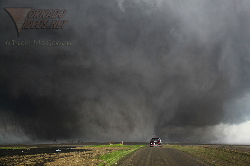 Bowdle, SD INCREDIBLE Wedge Tornado