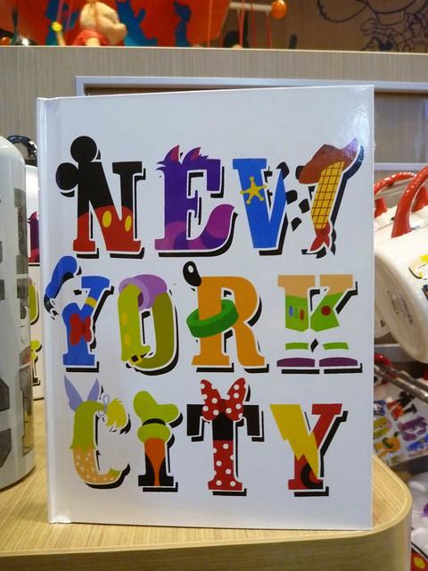 Disney New York City Notebook