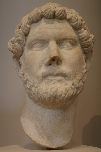 Bust of Hadrian, (ca. 130 CE) | by The Carouselambra Kid