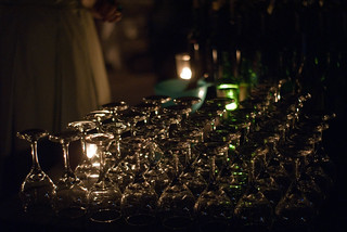 13457 Wine glasses ready for the reception | by geekstinkbreath