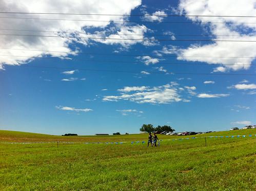 sky grass valparaiso indiana hills in mudathlon