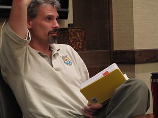 Jeremy Buck, shoreline assessment coordinator