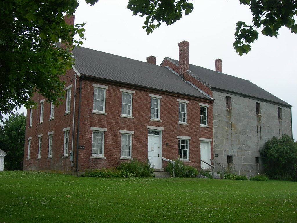 Historic Lincoln County Jail | Wiscasset, Maine The stone ja