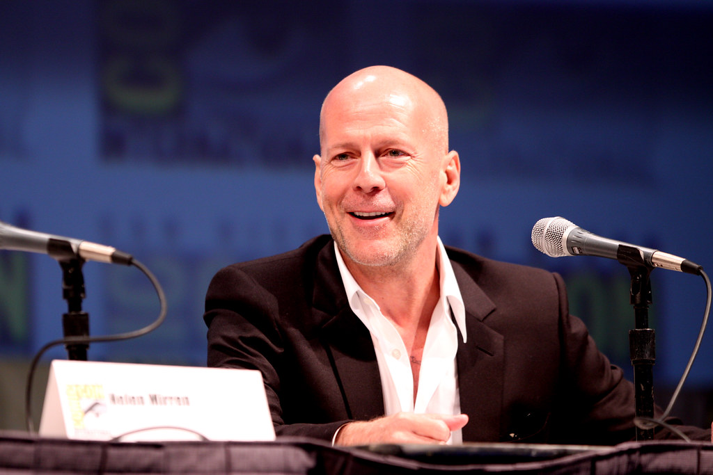 Bruce Willis | Actor Bruce Willis on the Red panel at the 20… | Flickr