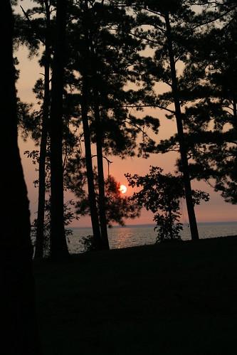 morning lake water sunrise country wolfcreek lakelivingston