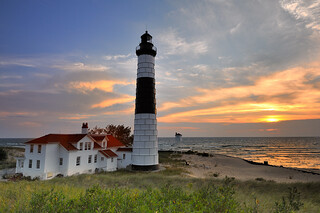 "Big Sable Point Lighthouse  (Ludington State Park, Ludington Michigan)  (Explore #6 Sept 1, 2010)  ""Michigan Nut""   jmphotography 