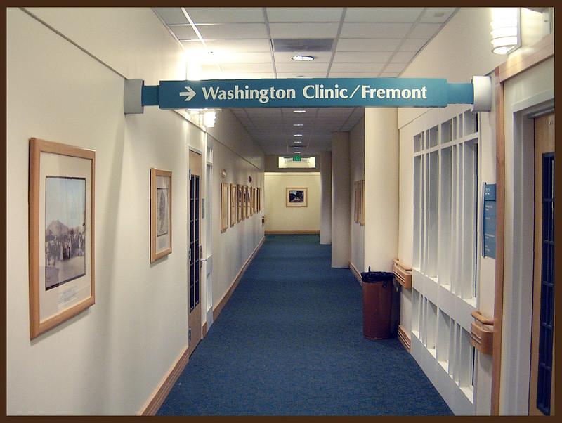 Washington Hospital, Clinic Hallway